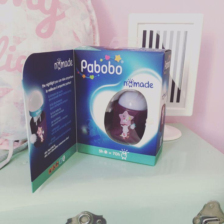 Test Veilleuse Nomade Pabobo sur www.mymyreloo.com