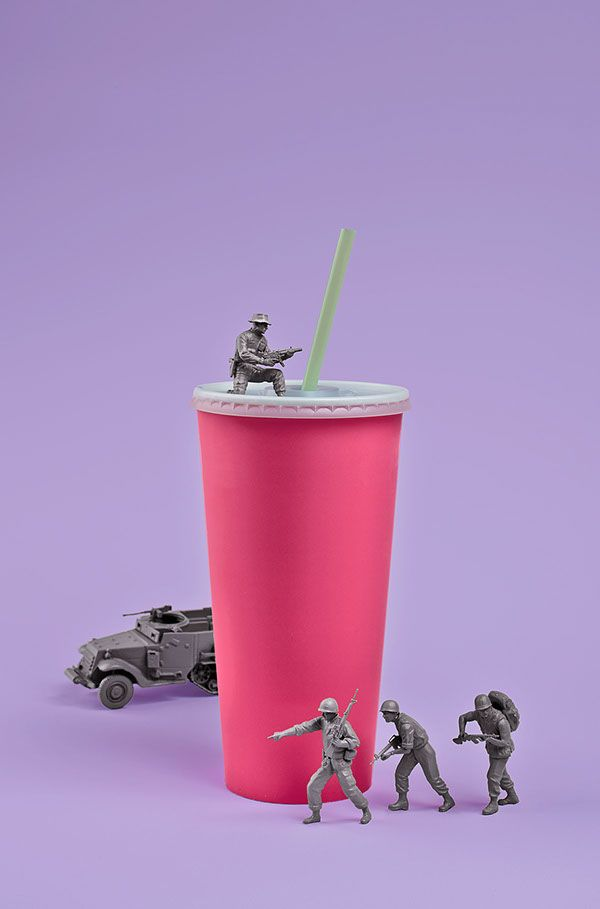 Adweek The War on Food by Vasava, via Behance