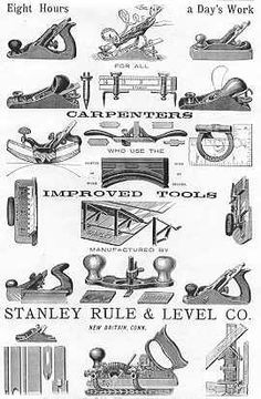 vintage carpentry tool - Google Search