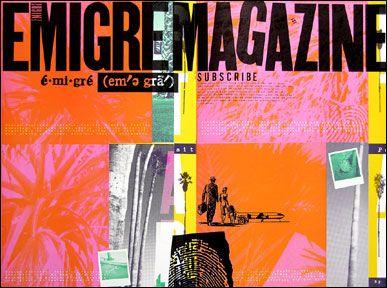 emigre magazine