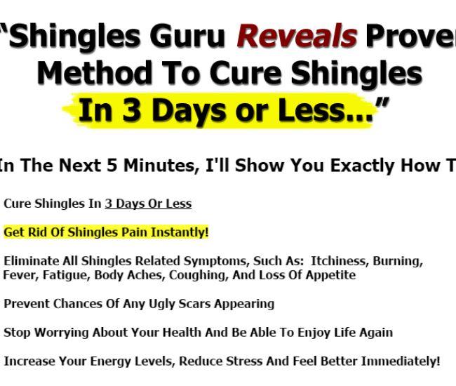 fast shingles cure the 1 shingles treatment method available