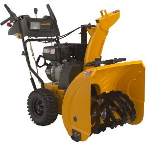 Poulan Pro PR627ES 27-Inch 208cc LCT Gas Powered Two-Stage Snow Thrower With Electric Start 961920038    List Price: 	$899.99  Price: 	$849.00 & eligible for FREE Super Saver Shipping.   You Save: 	$ 50.99 (6%)