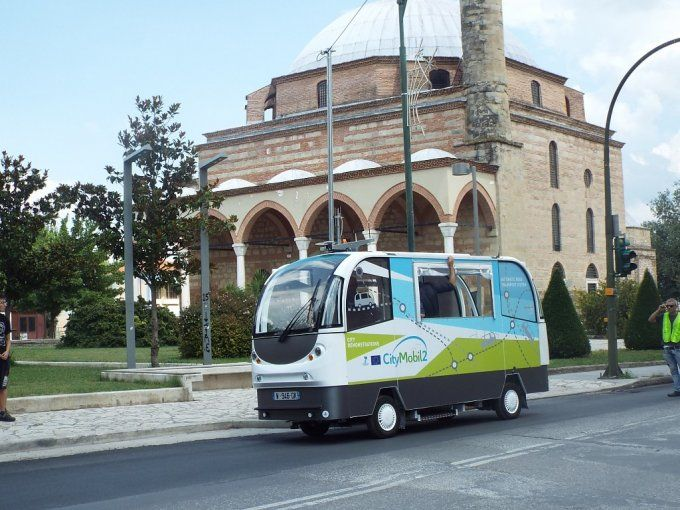 CityMobil2 / City activities / Large Scale Demonstration / Trikala