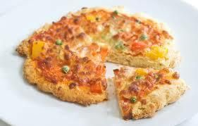 Scone based pizza