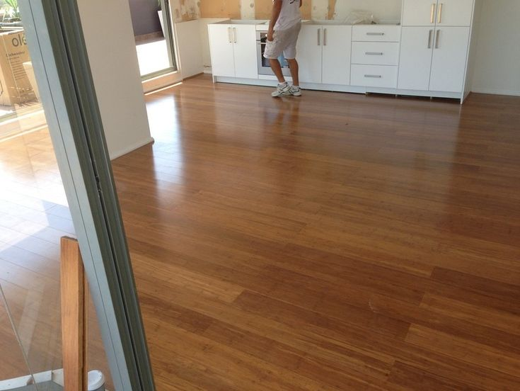 High Quality Coffee Bamboo Floating Floor, Installed By Floating Floors Direct   Floating  Floors Direct, Home