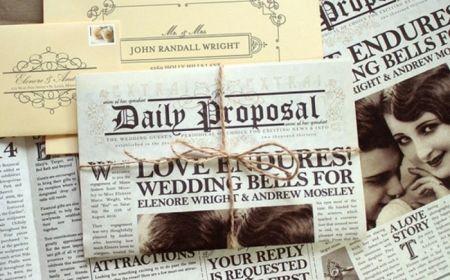 ▷ 1001+ Ideas de invitaciones de boda originales para tu día más especial