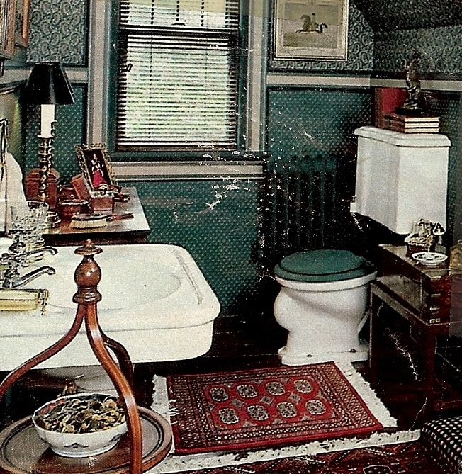 See? You Can Make A Dark Green Bathroom!
