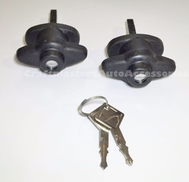 ARE Truck Cap, Topper small Win-door handles 2 Keys polymer Pair  #T-ARES-2 #ARE