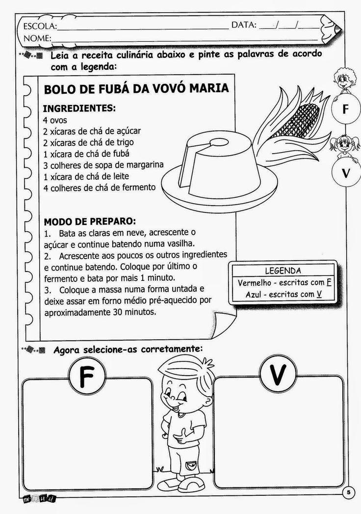 ESPAÇO EDUCAR: Atividades com complexidades ortográficas ou dific...