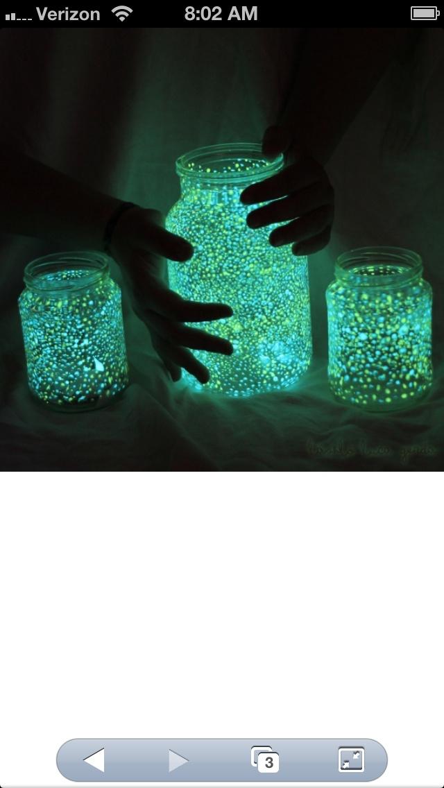 Glow In The Dark Mason Jars What You Need Mason Jars
