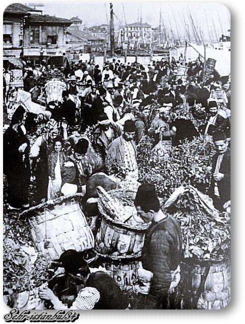 Eminönü Balıkpazarı - 1910 lar