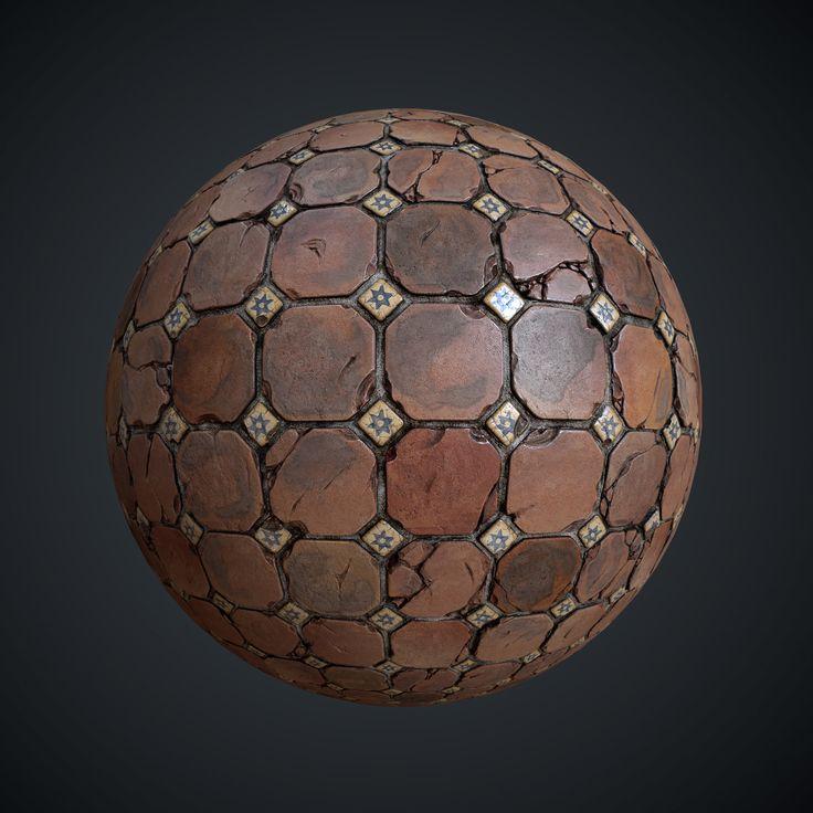 Texture Practice #1, Leonid Kuzyakin on ArtStation at https://artstation.com/artwork/texture-practice-1