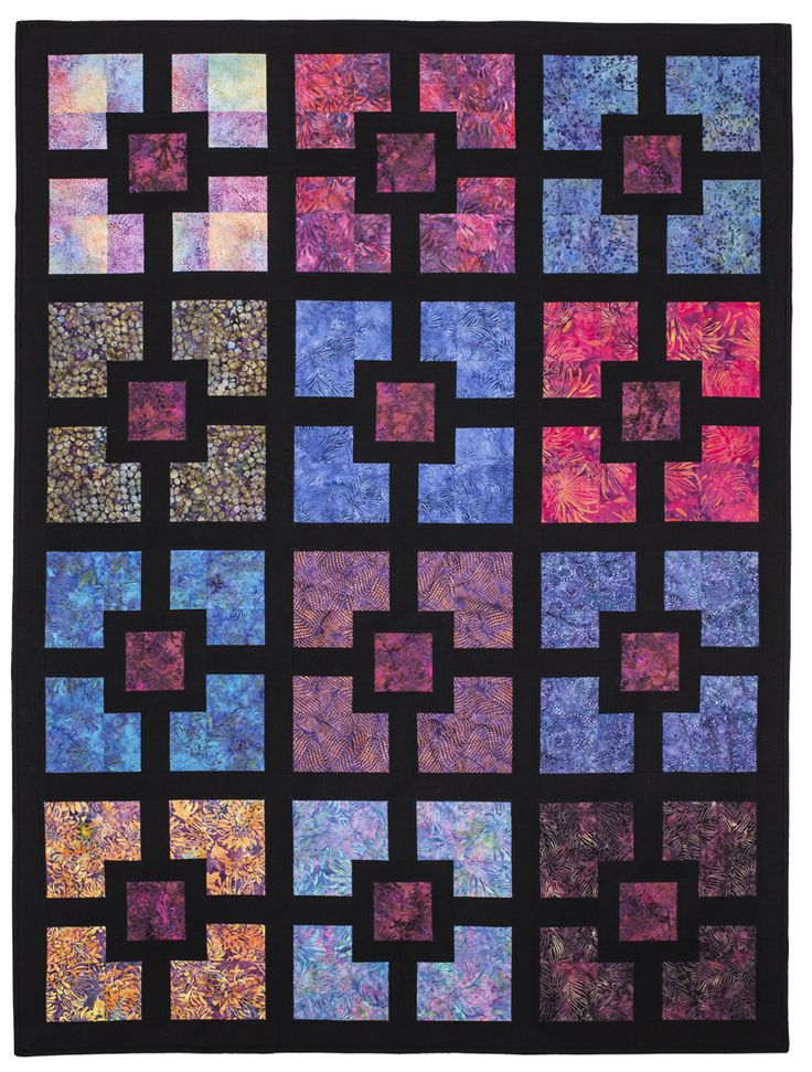 Hole In The Wall Eleanor Burns Signature Pattern Quilt