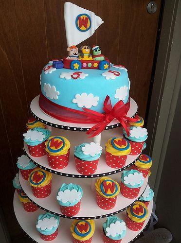 Wonder Pets Cake and Cupcakes 19th May 2012