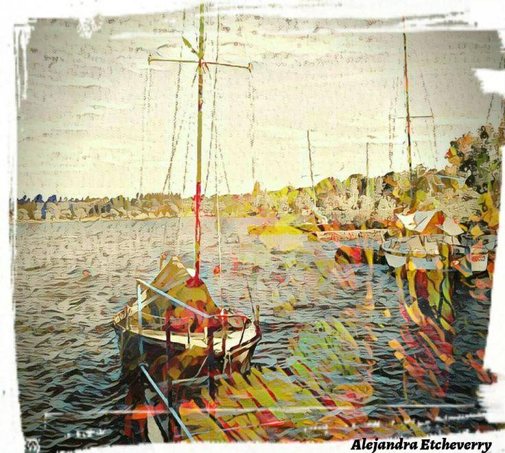 Título: Navegando - Arte Digital - San Luis, Argentina - Autora: Alejandra Etcheverry