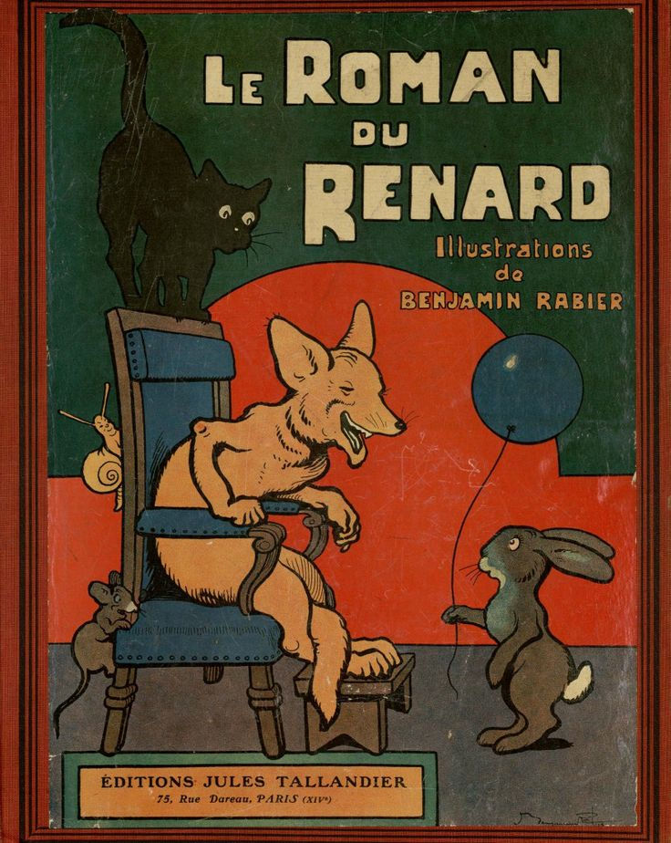 Benjamin Rabier : Le Roman de Renard