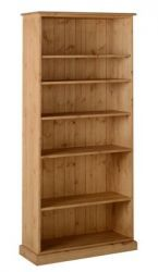 Tarka Pine 6', 12 Deep Bookcase-http://solidwoodfurniture.co/product-details-pine-furnitures-488-tarka-pine-deep-bookcase.html