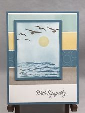 Stampin Up Card Thinking of You Sympathy Card Condolence Greeting Card