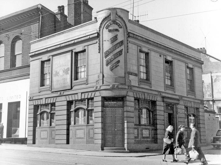 Tramway Hotel, No 126, London Road, junction of Broom Close