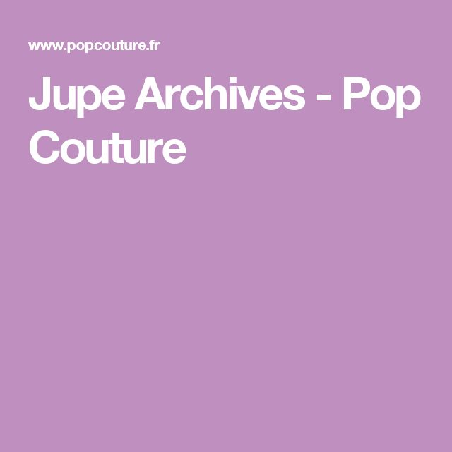 Jupe Archives - Pop Couture