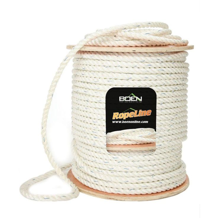 5/8 in. x 1200 ft. Poly-Combo 3-Strand Safety Rope