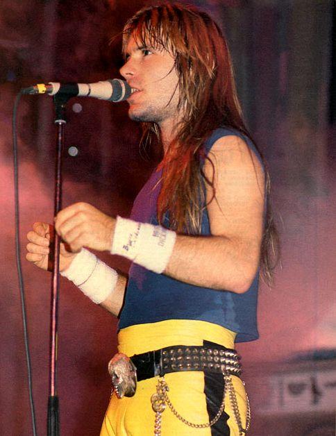 Bruce Dickinson - Live After Death tour 1985