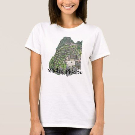 Machu Picchu T-Shirt - tap to personalize and get yours