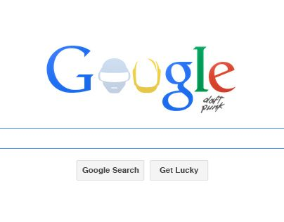 Google Doodle for Daft Punk - Get Lucky