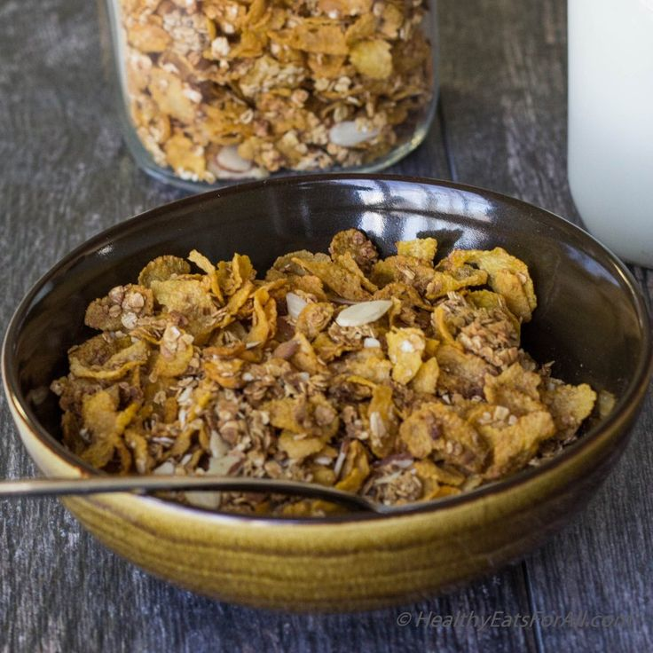 Homemade Honey Bunches of Oats cereal