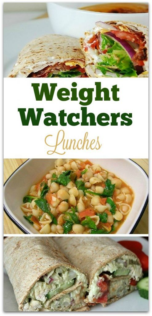 Ready for some new Weight Watchers Lunch Recipes? The Weight Watchers program will never tell you to skip a meal. That's important to me, because I know skipping meals will simply lower my metabolism.