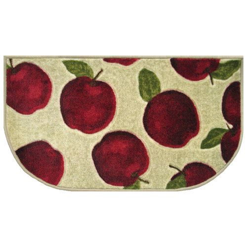 Apple Decorations For Kitchen Better Homes And Gardens Apple Kitchen Rug Decor Walmart