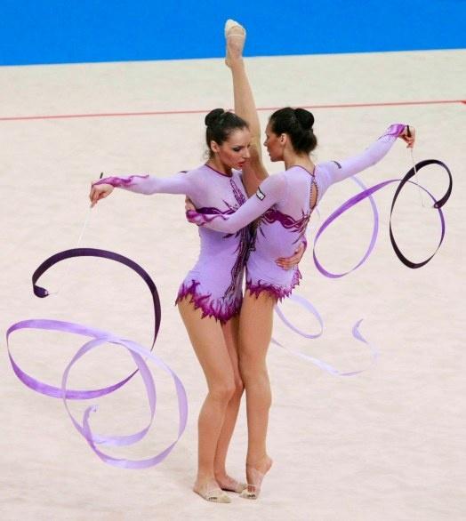 Olimpiadi 2012 - La squadra italiana di ginnastica ritmica