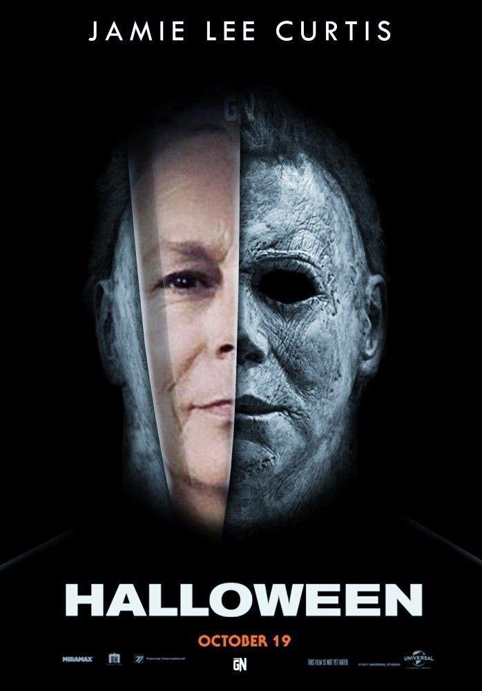 Pin By Dan Rosado On Halloween Movie Tribute Halloween Film Michael Myers Halloween Jamie Lee Curtis Halloween