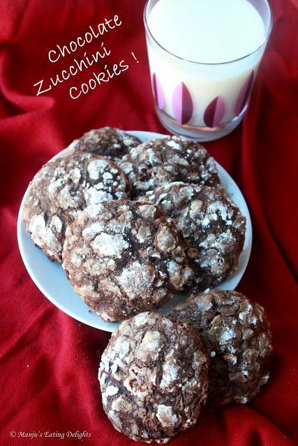 Chocolate Zucchini Cookies Recipe- very good and soft. A great way to use summers excess.