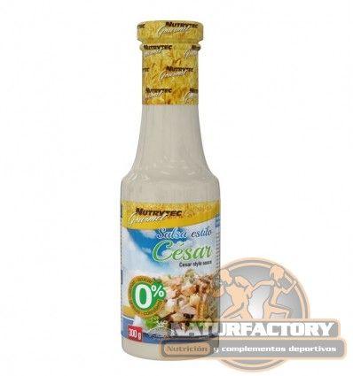 La Salsa Estilo César de Nutrytec Gourmet es un alimento dietético sin grasas, sin azúcar, sin calorías. Envío Gratis 24h.