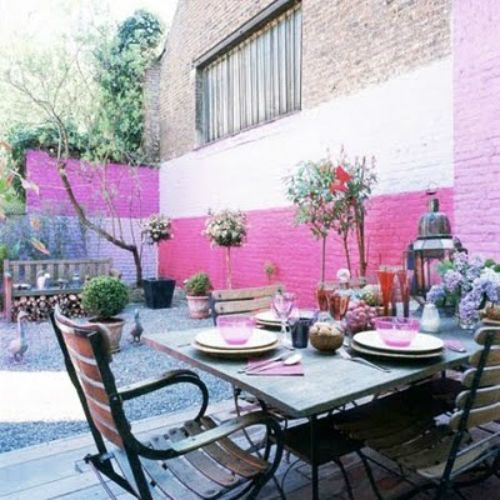 31 best Garden Accent Wall images on Pinterest   Landscaping ideas ...