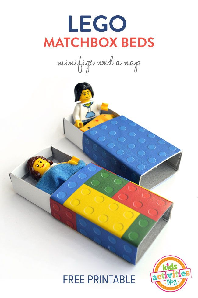 how to make a mini lego puzzle box