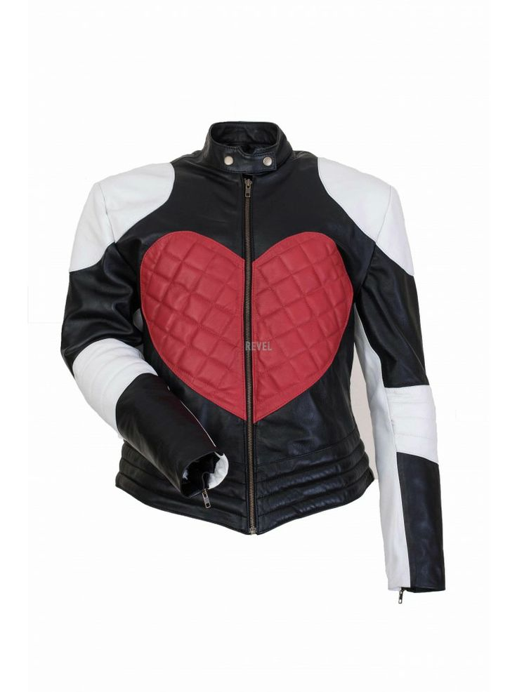 $222-HOT SALE for valentine season. Custom made leather jackets for men and women. GRAND SALE. Rare collection design. Niche fashion. Heart shaped pure leather jacket. Long-lasting 100% genuine leather.Long-lasting as love. Valentine's special gift for ladies. Premium UK online fashion shopping portal. FREE SHIPPING.