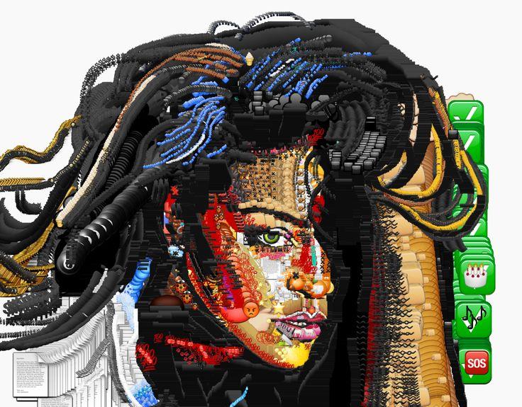 YUNG JAKE http://www.widewalls.ch/artist/yung-jake/ #contemporary #art #digital #art