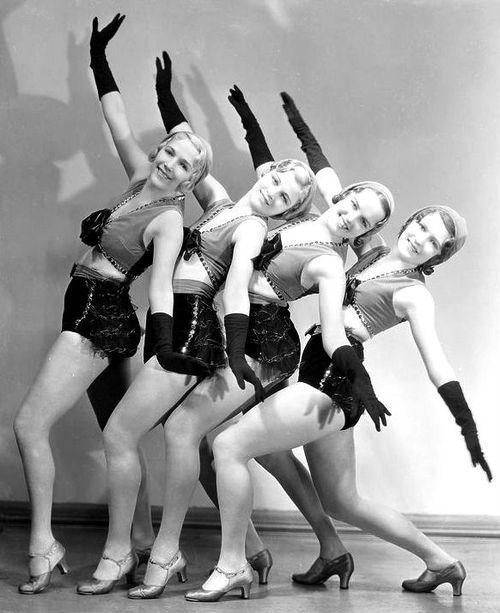 Chorus girls - The Band Wagon 1931