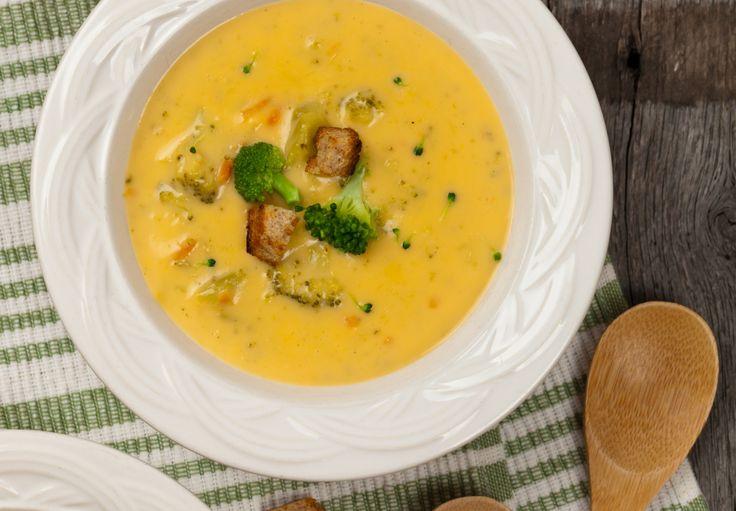 RECEPT: Brokolicovo syrová polievka via @akademiakrasy