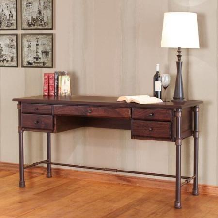 Artisan Home Furniture Mango Dark Home Office Desk