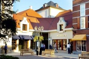 Shopping outlet in Roermond, The Netherlands - You van do some good shopping here and the old city centre (with even more shops) is only a 5 minute walk away.