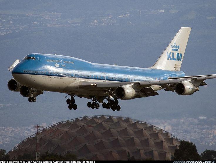 KLM B747-406M MMMX