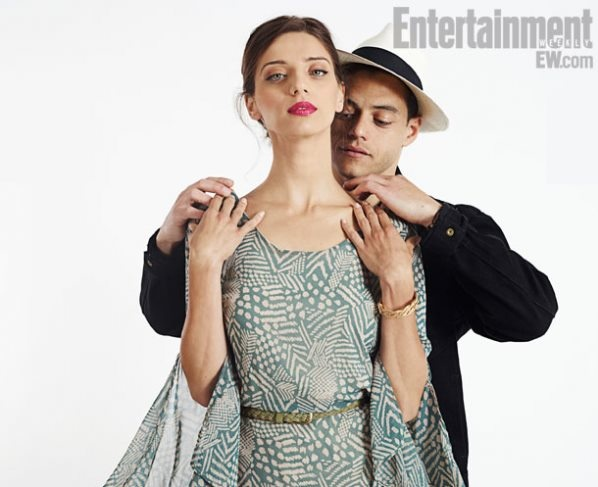 'Breaking Dawn Part 2′ Cast EW Comic-Con Portraits  ANGELA SARAFYAN(Tia) RAMI MALEK(Benjamin)