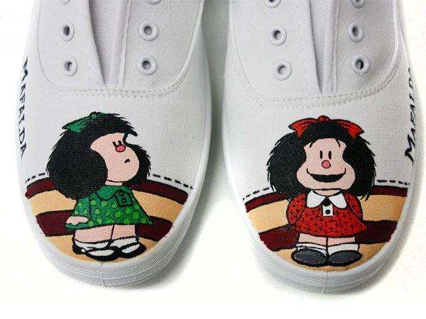 Zapatillas Mafalda :: Tributo a Quino