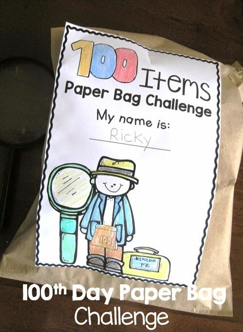 100th day challenge Challenge students to collect 100 of the most unusual items they can think of ask kids to finish the sentence one hundred years celebrate the 100th day of school.