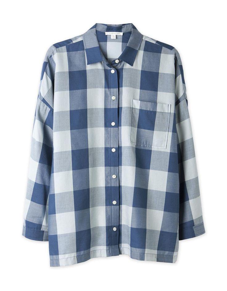 Drape Check Shirt from Trenery