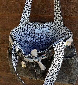 tassen maken jeans