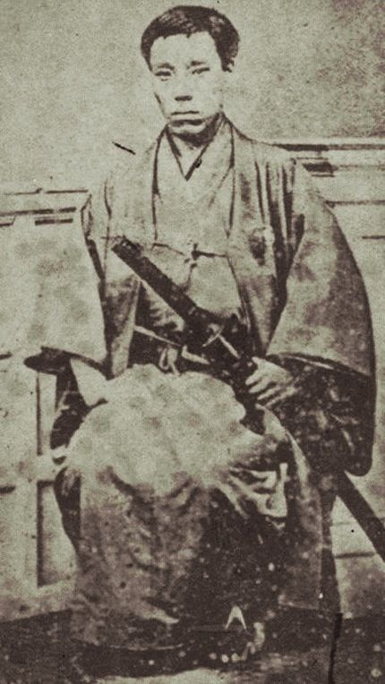 Takasugi Shinsaku (高杉 晋作 27 September 1839 – 17 May 1867) was a samurai from the Chōshū Domain of Japan who contributed significantly to the Meiji Restoration.He used the alias Tani Umenosuke (谷梅之助) to hide his activities from the shogunate.